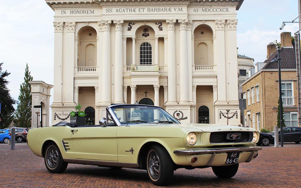 Mustang huren bruiloft