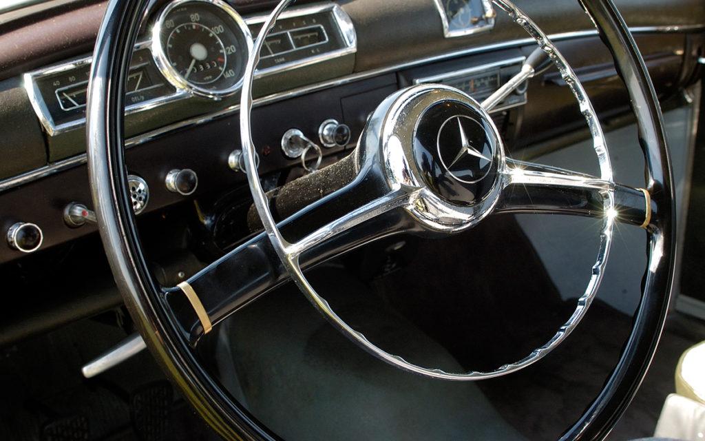 interieur Mercedes-Benz oldtimer