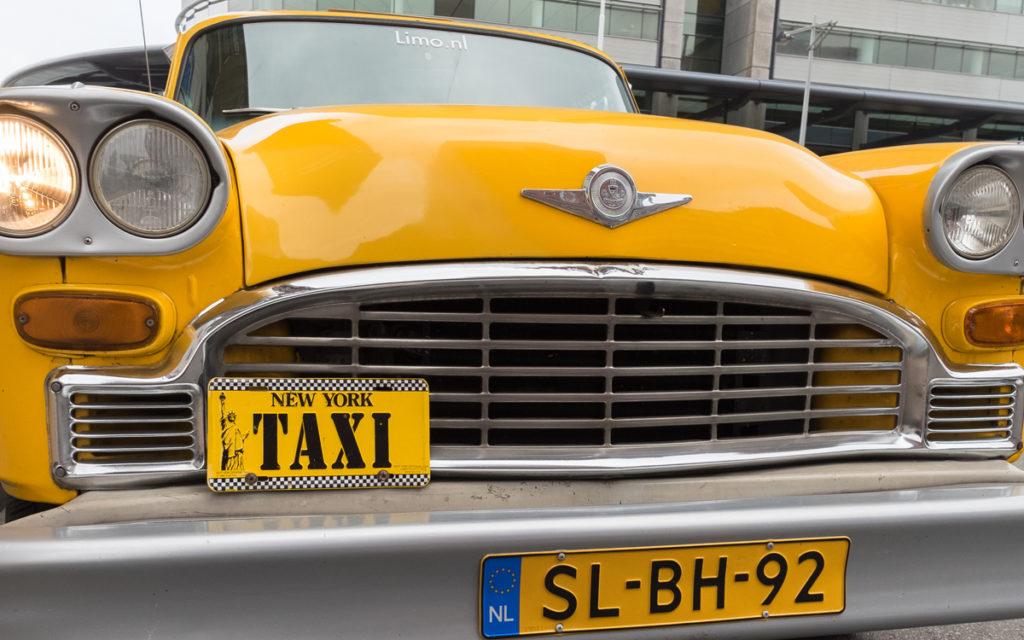 new york taxi origineel