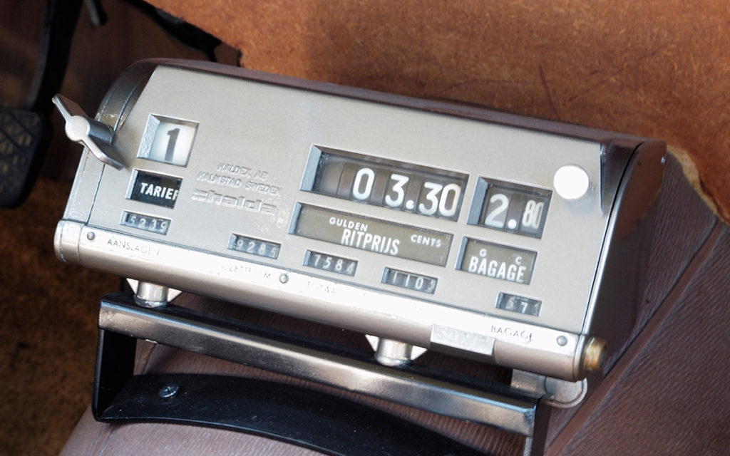 oude taximeter oldtimer