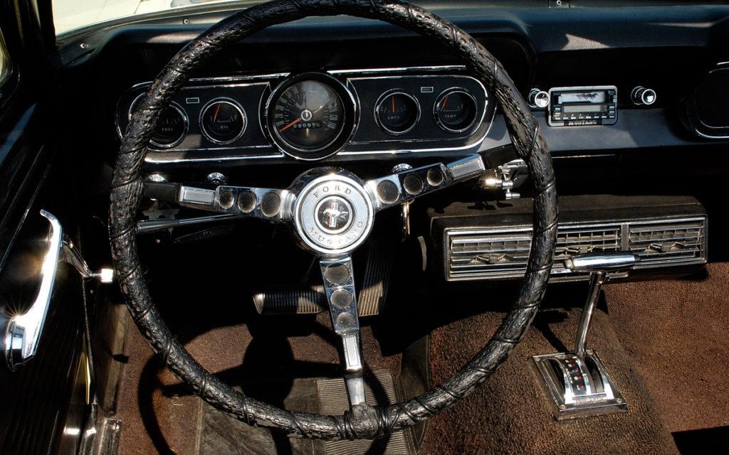 stuur van Ford Mustang