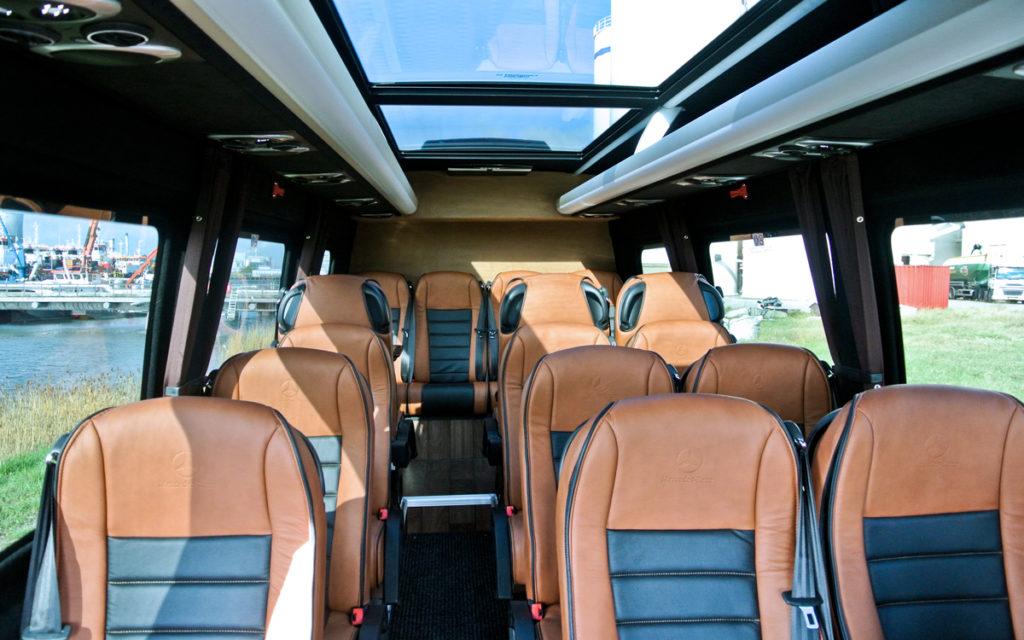 luxe details dakraam vip bus 16 personen