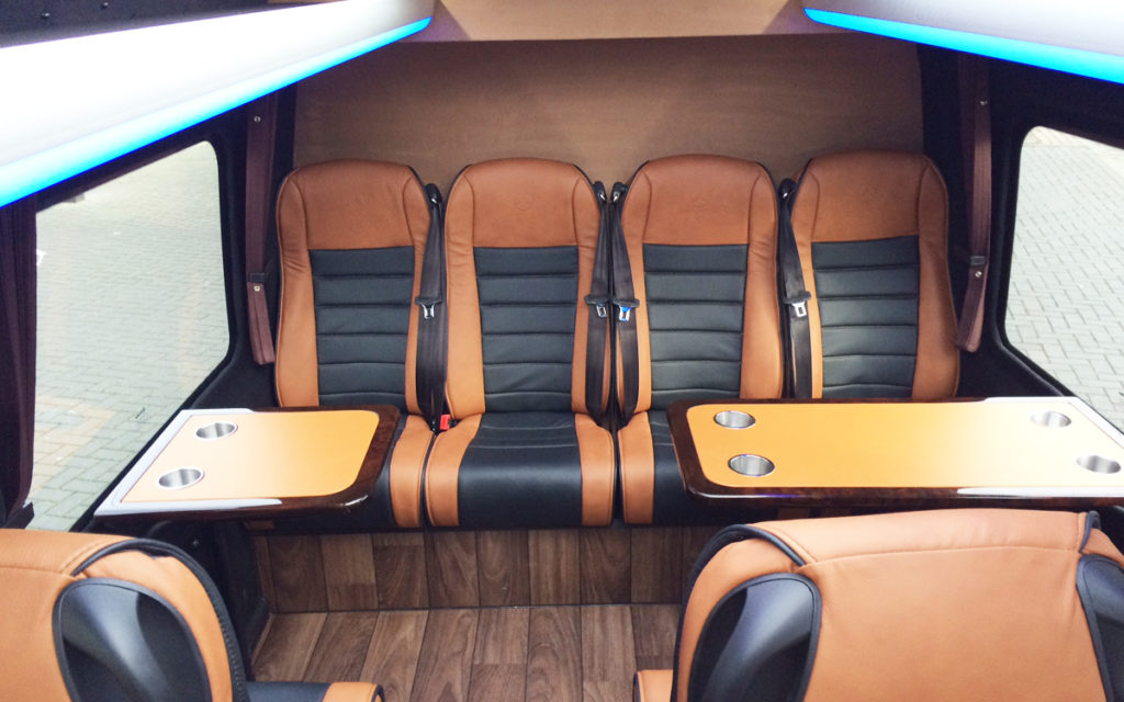 luxe details vip bus