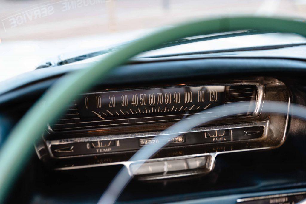 Cadillac cockpit